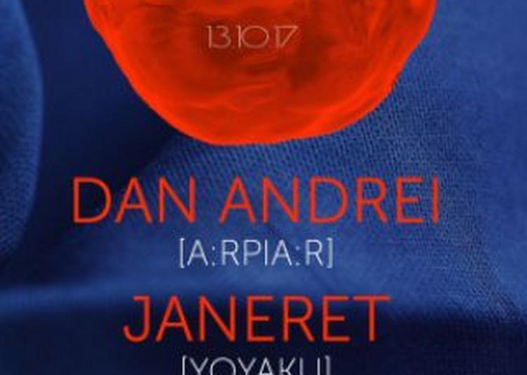Undoing IV : DAN ANDREI & JANERET & VLAD CAIA Live à Paris 18ème