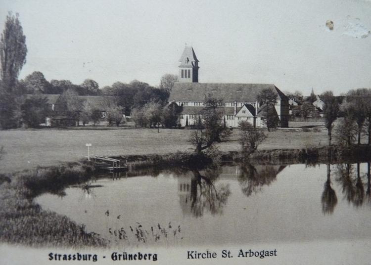 Une église Témoin De L'architecture Dite De « Glacis » à Strasbourg