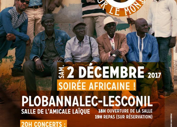 Une Oreille sur le Monde - soirée africaine! (before du festival No Border de Brest) à Plobannalec Lesconil