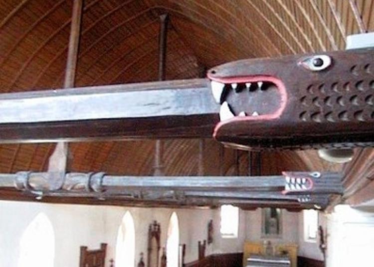 Une Petite Église Avec Une Grande Histoire ! à Le Gavre