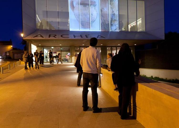 Une Projection Pour Les Dix Ans Du Musée à Louvres