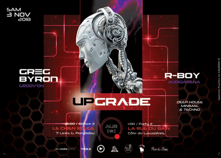 Upgrade... By Greg Byron à Albi