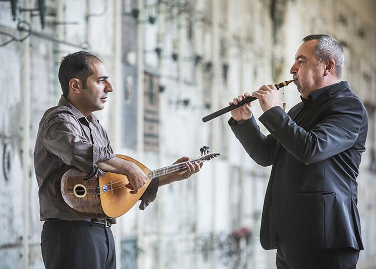 Vardan Hovanissian et Emre Gültekin en concert au Nouveau Pavillon à Bouguenais