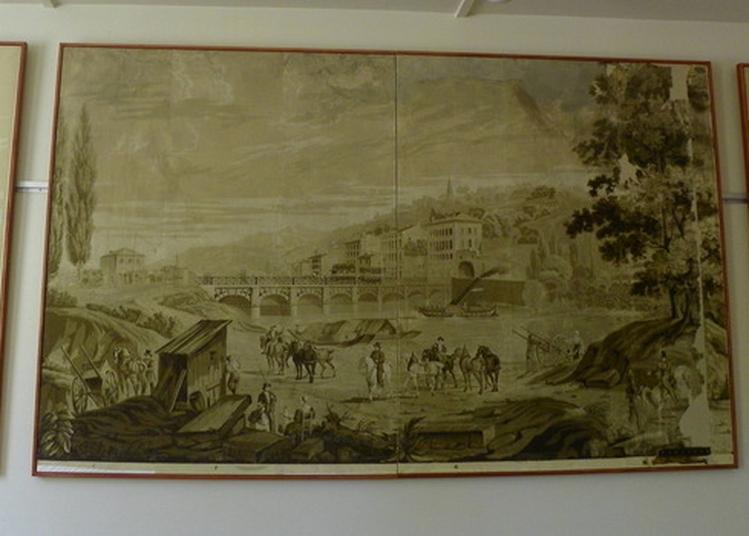 Venez Admirer Les Papiers Peints Panoramiques De La Maison Forte. à Vourles