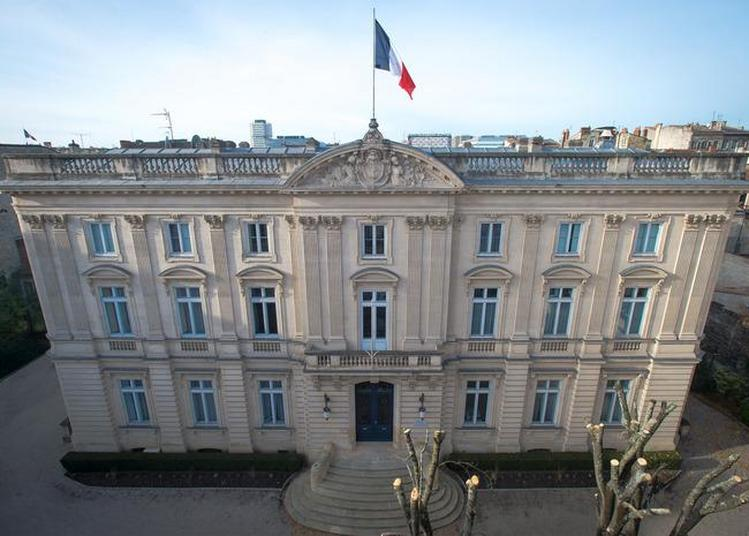 Venez Profiter De L'ouverture Exceptionnelle De L'hôtel Du Quartier Général De Bordeaux