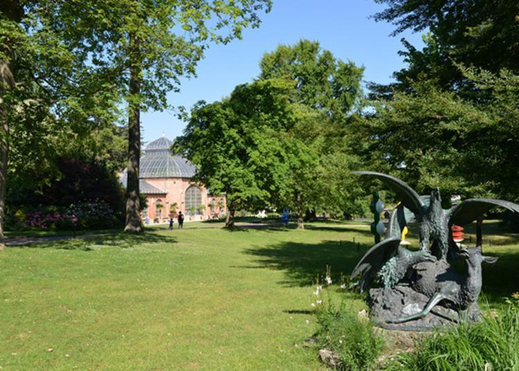 Venez Vous Promener Dans Un Jardin Créé Il Y A 150 Ans à Metz