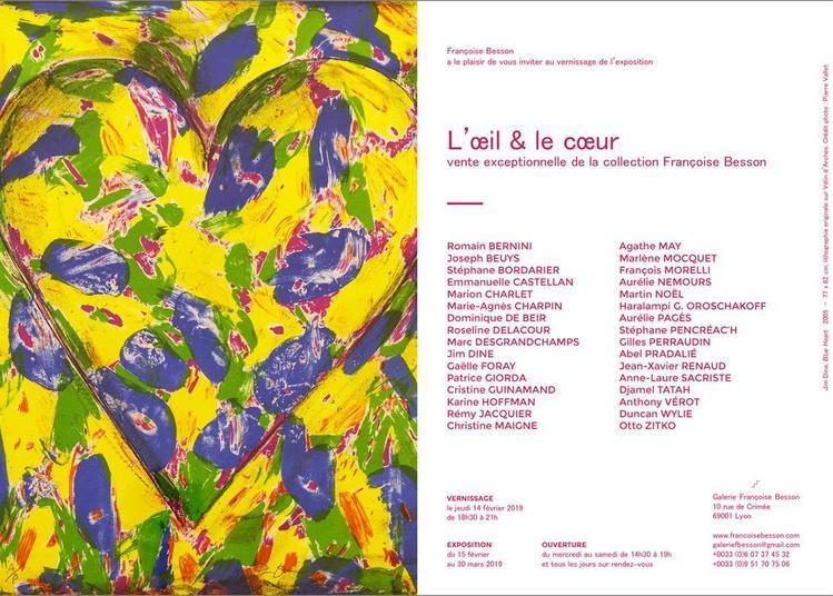Vente exceptionnelle d'une sélection de la collection Françoise Besson à Lyon