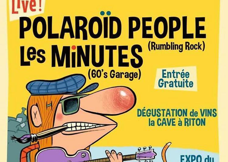 Vernissage / Concert : Polaroid People et Les Minutes à Vaureal