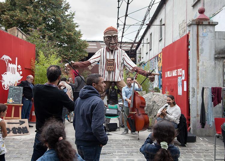 Vernissage De L'exposition « Le Festin » Avec Concert à La Villa Mais D'ici à Aubervilliers