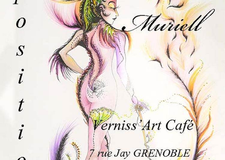 Vernissage de Muriell à Grenoble