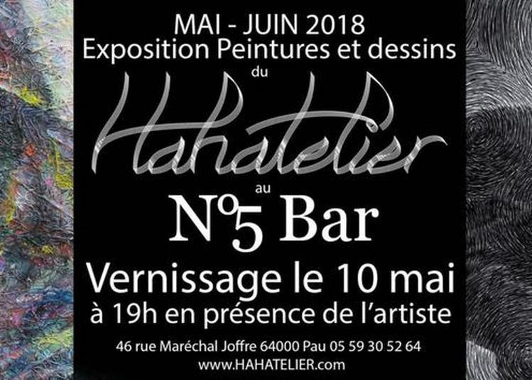 Dessin et peintures de l'Hahatelier à Pau