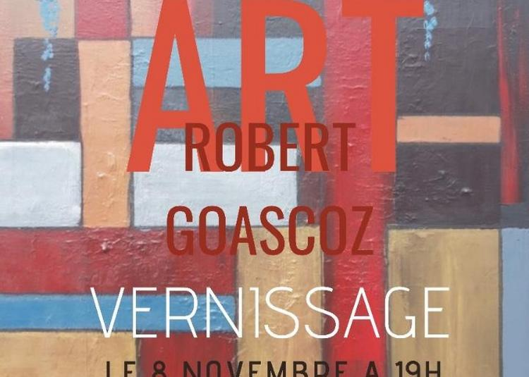 Vernissage Robert Goascoz à Fourques sur Garonne