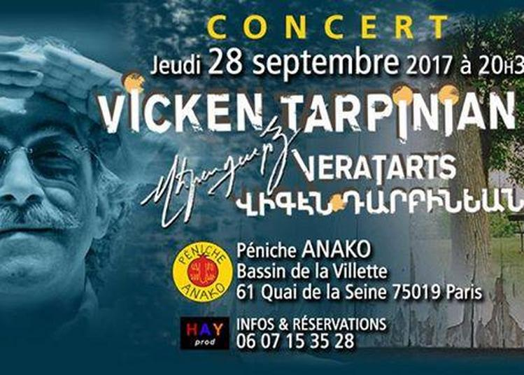 Vicken Tarpinian à Paris 19ème