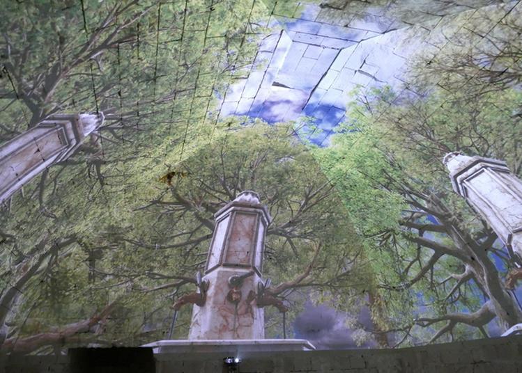 Videomapping Au Donjon à La Roche Posay