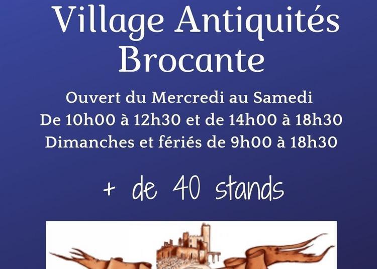 Village Antiquités Brocante à Rauzan