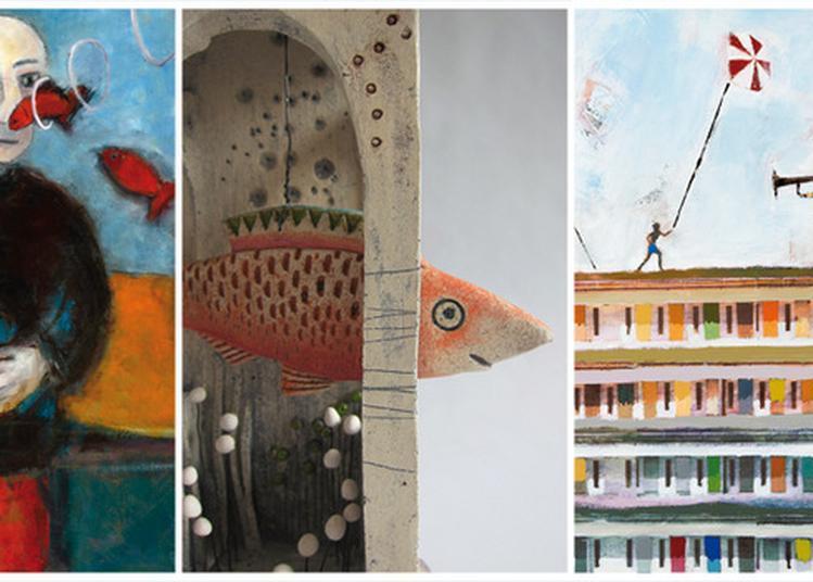 Village D'artistes - Univers En Couleurs - Exposition à Rablay sur Layon