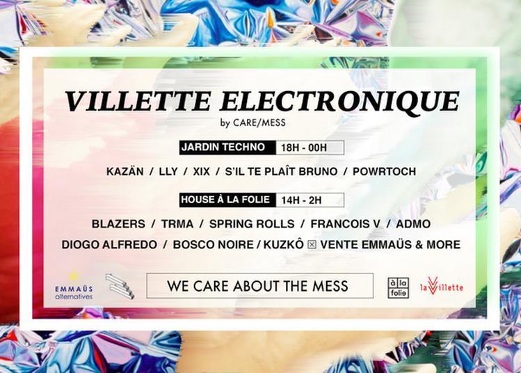 Villette Electronique à Paris 19ème