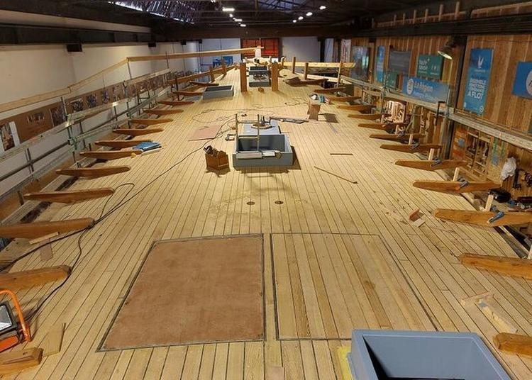 Visite à Quai D'espérance III, Nouvelle Barque à Voile Du Lac D'annecy à Annecy
