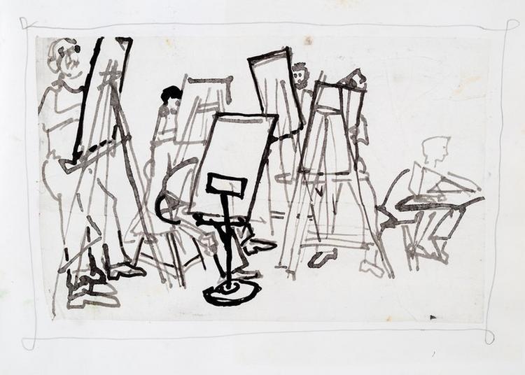 Visite Atelier Autour Du Portrait-autoportrait à Avignon