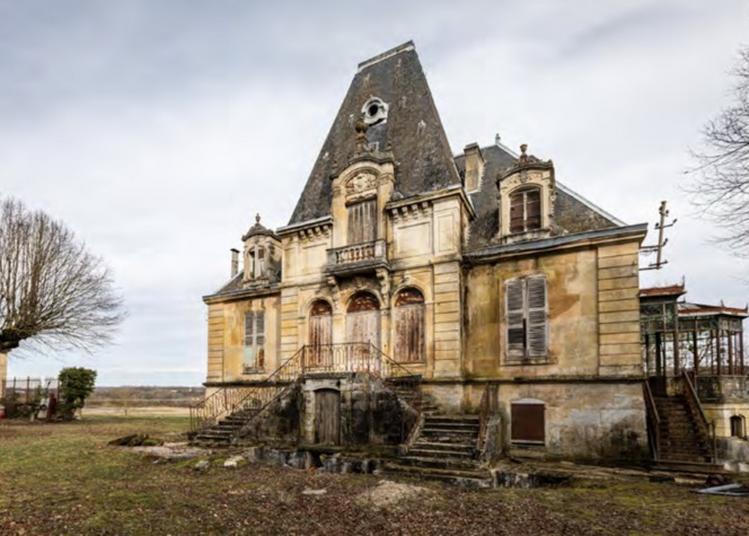 Visite Autour De L'histoire Et Des Jardins D'un Patrimoine En Péril à Rupt