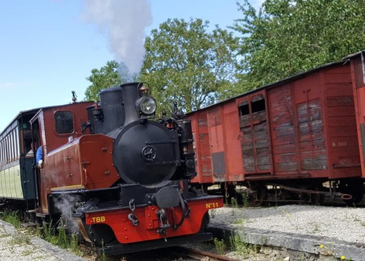 Visite Commentée Train touristique du Bas-Berry à Ecueille