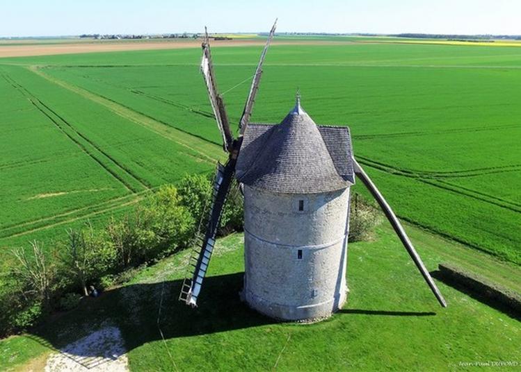 Visite Commentée D'un Moulin Tour En Beauce Dans Le Vent Et Les Blés à Ozoir le Breuil