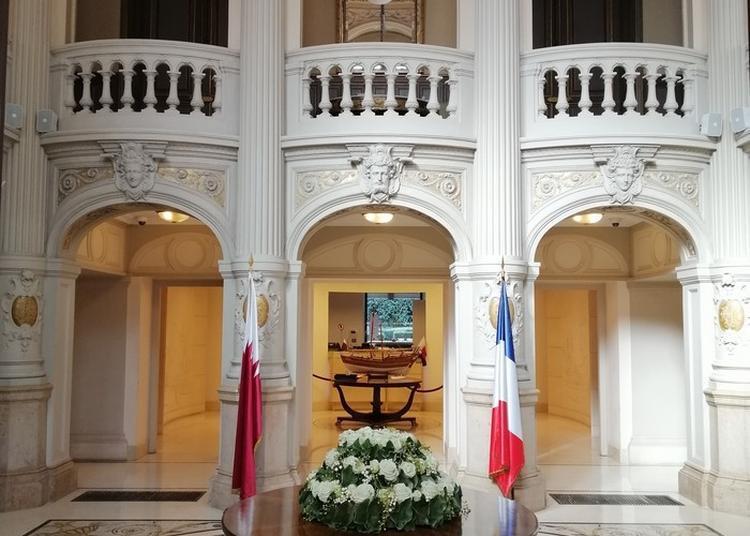 Visite Commentée De L'ambassade De L'etat Du Qatar En France à Paris 8ème