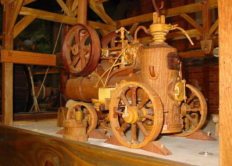 Visite Commentée De L'atelier De Guy Cauret Ainsi Que De La Collection D'outils Anciens à Saint Marien