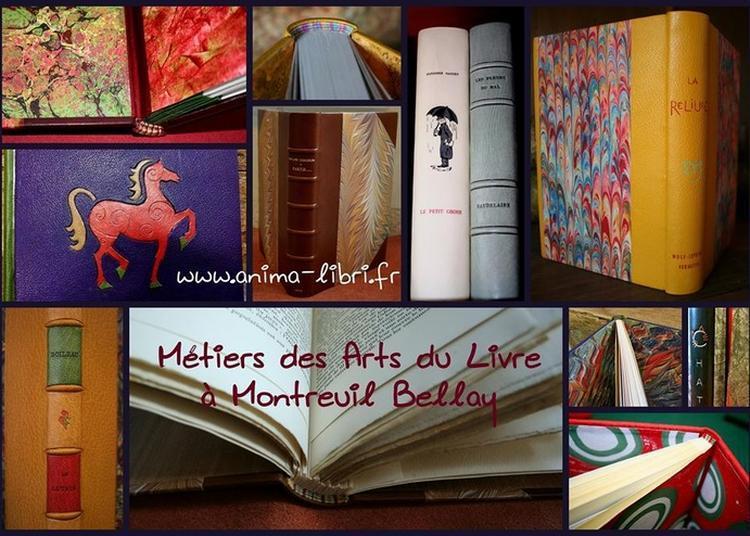 Visite Commentée De L'atelier De Reliure Et Restairation à Montreuil Bellay