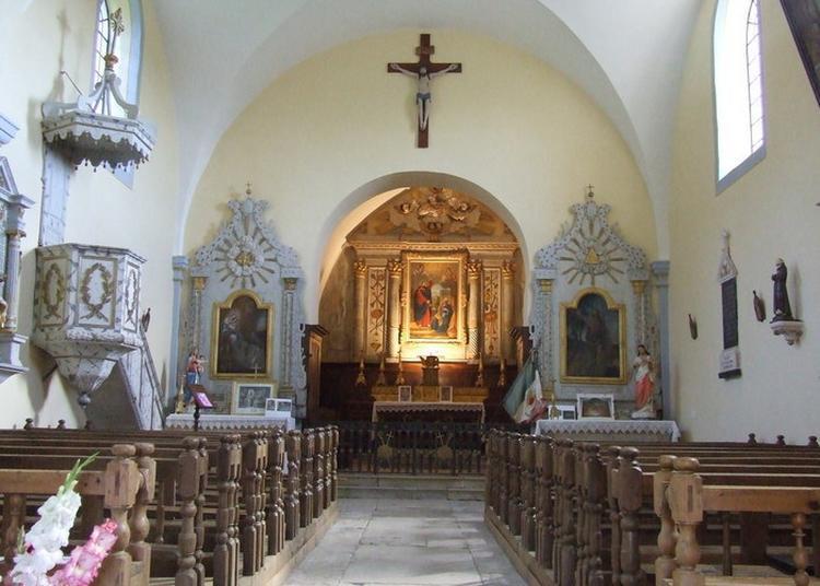 Visite Commentée De L'église De Coulans-sur-lison à Eternoz
