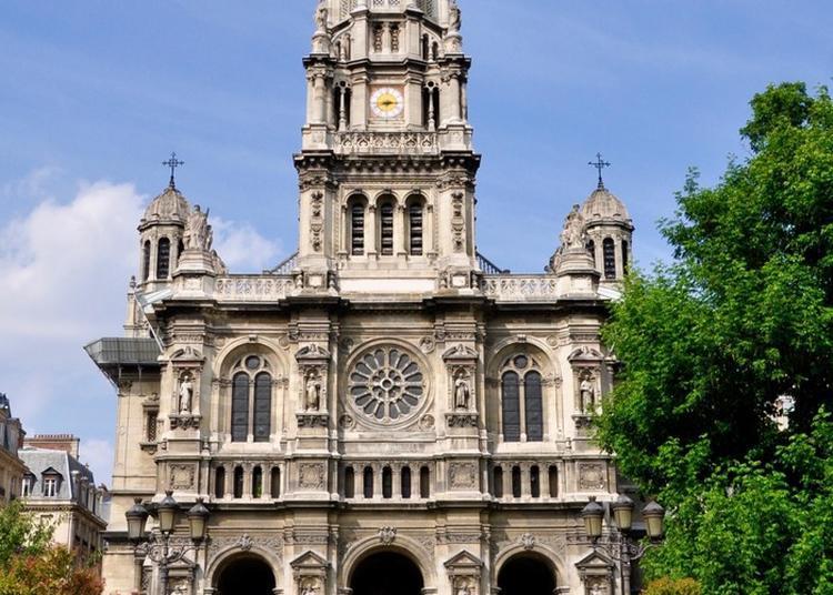 Visite Commentée De L'église De La Trinité à Paris 9ème