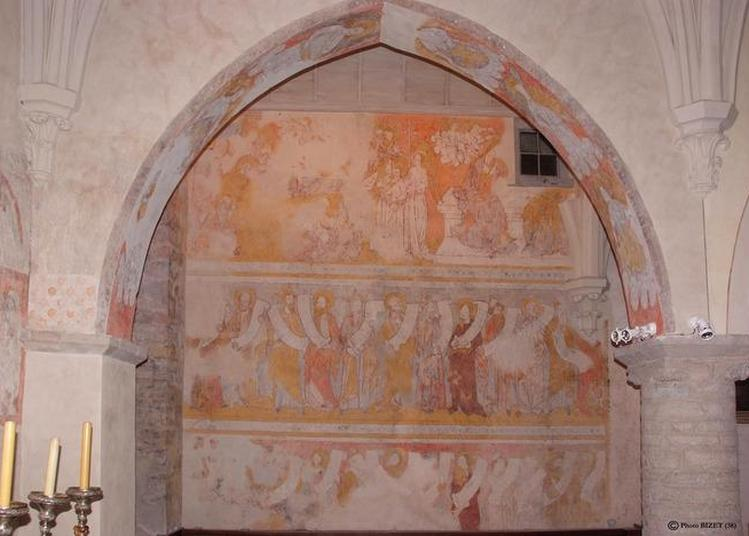 Visite Commentée De L'église Et Des Peintures Augustiniennes à Cremieu