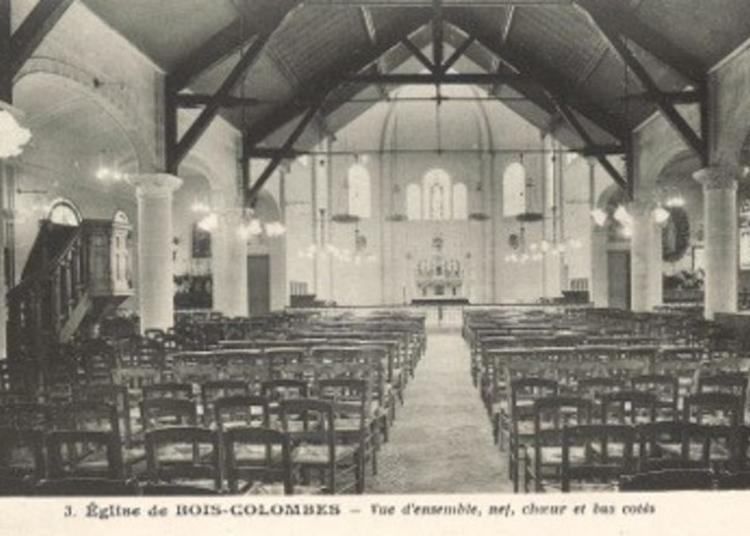 Visite Commentée De L'église Notre-dame De Bon-secours à Bois-colombes à Bois Colombes