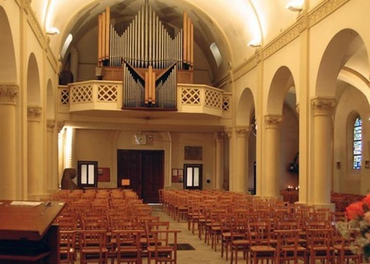 Visite Commentée De L'église Saint-germain Et Récital D'orgues à Gagny