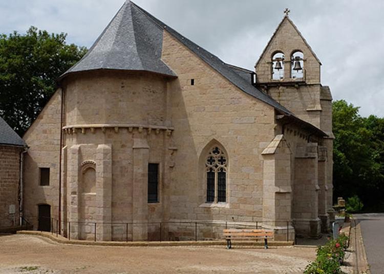 Visite Commentée De L'église Saint-gilles Et Saint-george De Tarnac