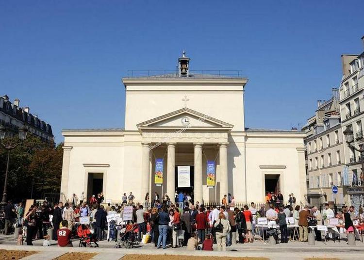 Visite Commentée De L'église Sainte Marie Des Batignolles à Paris 17ème