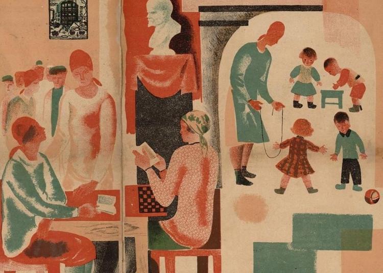 Visite Commentée De L'exposition D'albums Pour Enfants Soviétiques à Paris 10ème