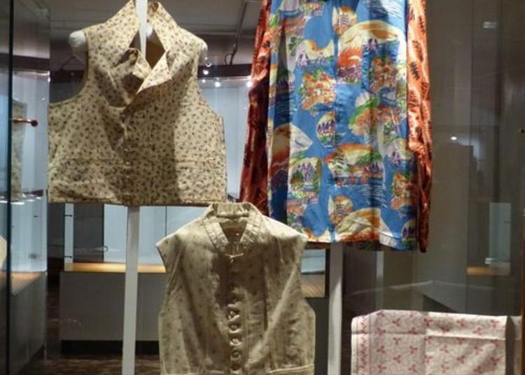 Visite Commentée De L'exposition De La Fleur Au Tissu, Le Coton Et La Mode Masculine à Argenton sur Creuse