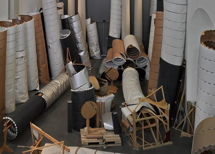 Visite Commentée De L'exposition/installation Pipeline Field De Michael Beutler à Selestat