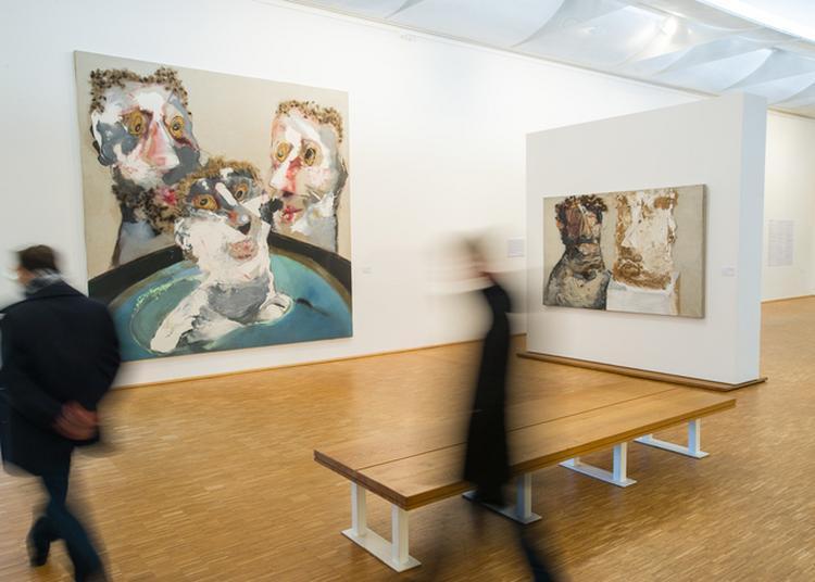Visite Commentée De L'exposition Rebeyrolle, 50 Peintures Et Sculptures à Eymoutiers