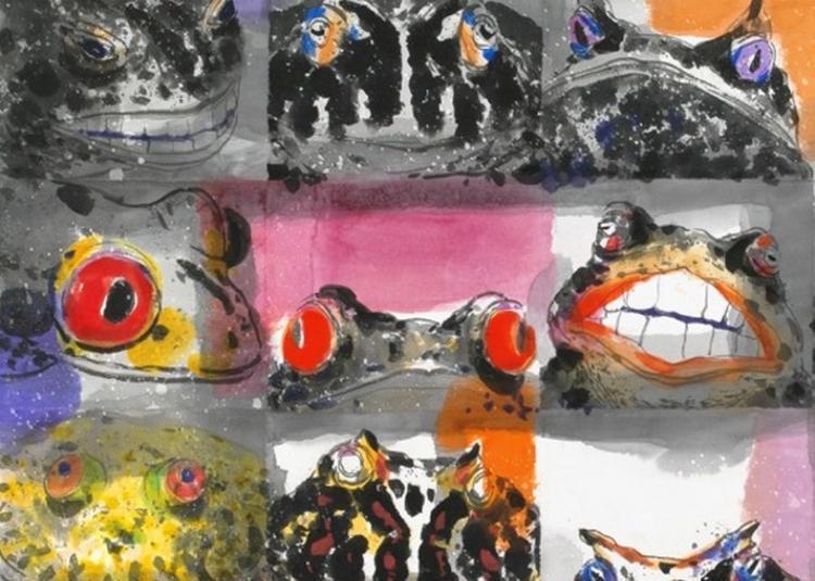 Visite Commentée De L'exposition Yuan Chin-taa, L'art Est Un Jeu à Avignon