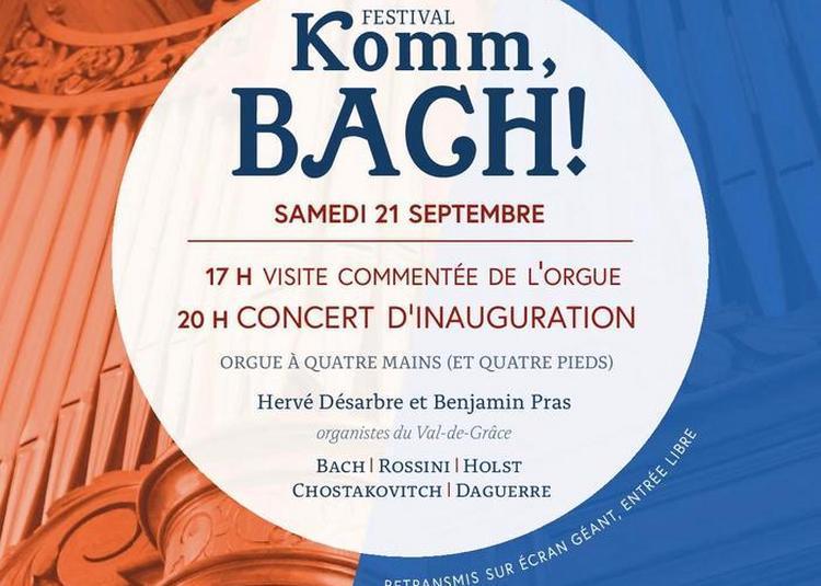 Visite Commentée De L'orgue à Paris 8ème