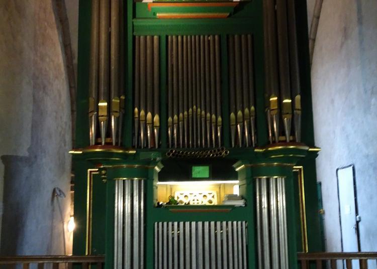 Visite Commentée De L'orgue De L'église De Guéret à Gueret