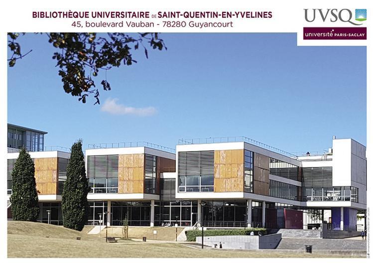 Visite Commentée De La Bibliothèque Universitaire De Saint-quentin-en-yvelines à Guyancourt