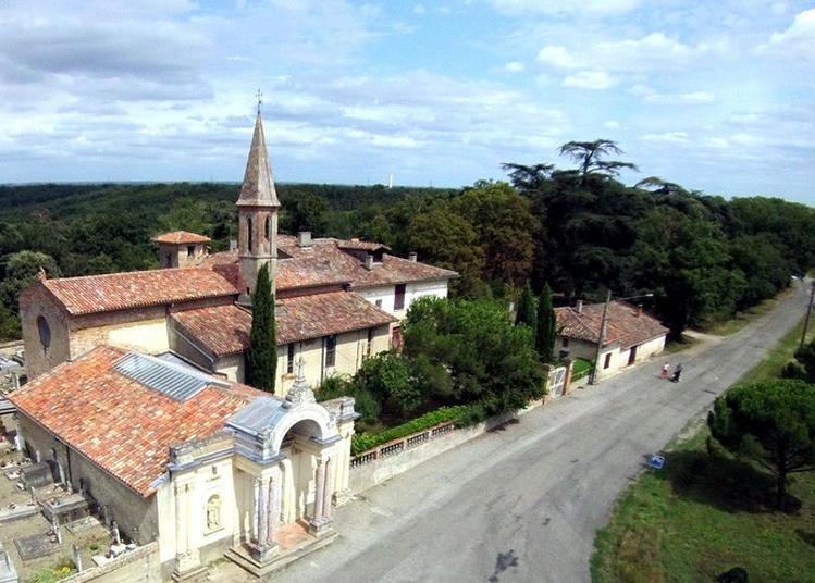 Visite Commentée De La Chapelle Notre-dame D'alet à Montaigut sur Save