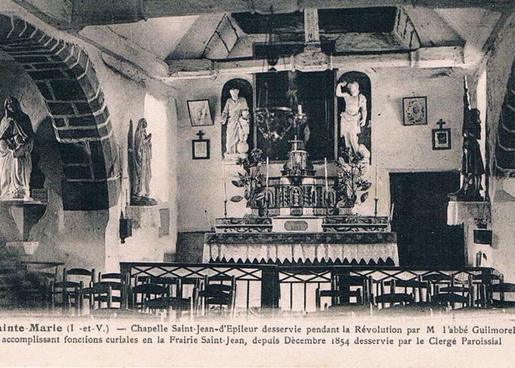 Visite Commentée De La Chapelle Saint-jean D'epileur à Sainte Marie
