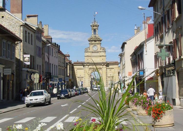 Visite Commentée De La Ville De Pontarlier