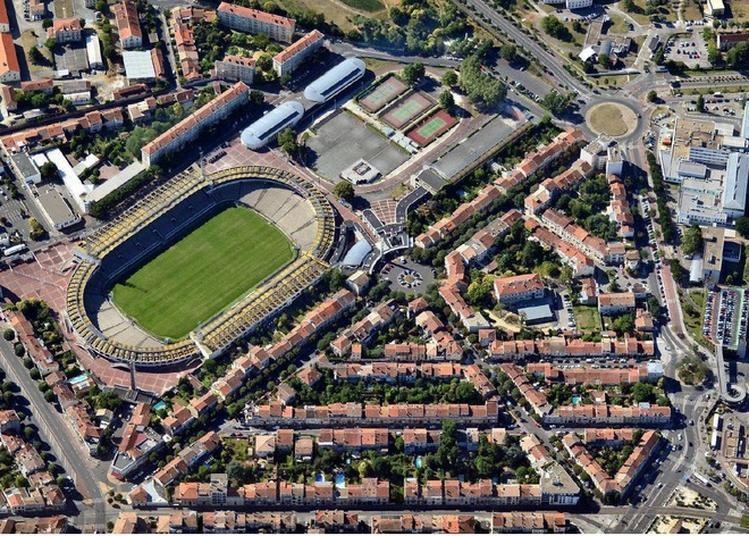 Visite Commentée Des Deux Stades Du Parc Lescure Et De Son Quartier Art Déco. à Bordeaux