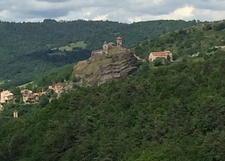 Visite Commentée Des Vestiges Du Château De Saint-ilpize. à Saint Ilpize