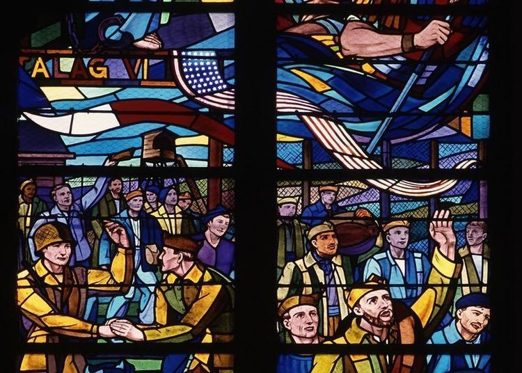 Visite Commentée Des Vitraux Sur Les Déportés Fléchois - Eglise Sainte-colombe à La Fleche